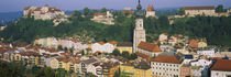 Burghausen, Bavaria, Germany by Panoramic Images