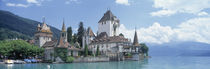 Oberhofen Castle Lake Thuner Switzerland by Panoramic Images