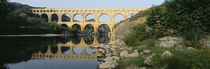France, Nimes, Pont du Gard by Panoramic Images