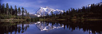 Picture Lake, North Cascades National Park, Washington State, USA by Panoramic Images