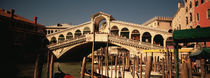 Tourists in a city, Venice, Italy von Panoramic Images