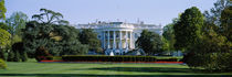 Lawn in front of a government building, White House, Washington DC, USA by Panoramic Images