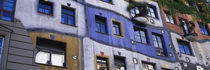 Low angle view of a building, Kunsthaus, Wien, Vienna, Austria von Panoramic Images