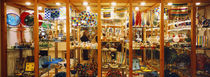 Glassworks display in a store, Murano Glassworks, Murano, Venice, Italy by Panoramic Images
