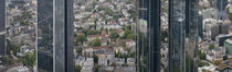 Buildings in a city, Frankfurt, Hesse, Germany by Panoramic Images