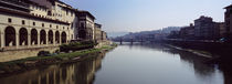 Ponte Vecchio, Arno River, Florence, Tuscany, Italy by Panoramic Images