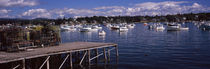 Boats in the sea, Bass Harbor, Hancock County, Maine, USA von Panoramic Images