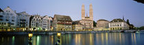 Evening, Cityscape, Zurich, Switzerland by Panoramic Images