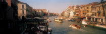 Buildings along a canal, Grand Canal, Venice, Italy by Panoramic Images