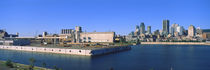 City at the waterfront, Montreal, Quebec, Canada by Panoramic Images