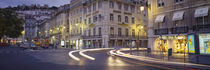 Panorama Print - Straßenverkehr Lissabon, Portugal von Panoramic Images