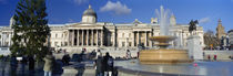 Trafalgar Square, City Of Westminster, London, England by Panoramic Images
