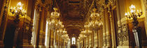 Interiors of a palace, Paris, Ile-De-France, France by Panoramic Images