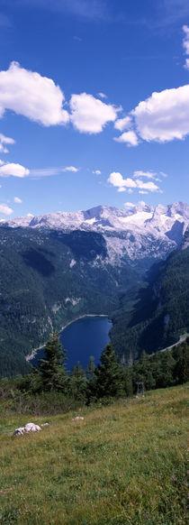 Dachstein Mountains, Upper Austria, Austria von Panoramic Images