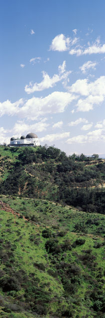 Observatory on a hill, Griffith Park Observatory, Los Angeles, California, USA von Panoramic Images