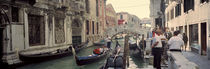 Buildings along a canal, Grand Canal, Rio Di Palazzo, Venice, Italy von Panoramic Images