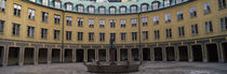 Fountain in Brantingtorget, Stockholm, Sweden by Panoramic Images