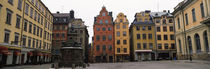Buildings in a city, Stortorget, Gamla Stan, Stockholm, Sweden by Panoramic Images