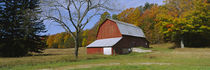 Barn in a field, Sleeping Bear Dunes National Lakeshore, Michigan, USA by Panoramic Images