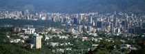 High angle view of a city, Caracas, Venezuela 2010 von Panoramic Images