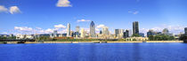 City at the waterfront, Lachine Canal, Montreal, Quebec, Canada by Panoramic Images