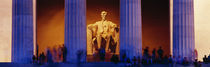 Lincoln Memorial, Washington DC, District Of Columbia, USA by Panoramic Images