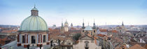 Church in a city, Prague, Czech Republic by Panoramic Images