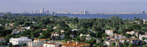 High Angle View Of The City, Miami, Florida, USA von Panoramic Images