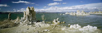 Tufa rock formations at the lakeside, Mono Lake, California, USA by Panoramic Images