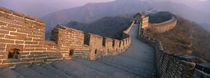 High angle view of the Great Wall Of China, Mutianyu, China von Panoramic Images