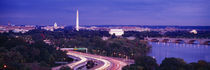 High angle view of a cityscape, Washington DC, USA von Panoramic Images
