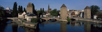 Rhine River, Bas-Rhin, Strasbourg, Alsace, France by Panoramic Images