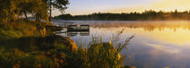 Reflection of sunlight in water, Vuoksi River, Imatra, Finland by Panoramic Images