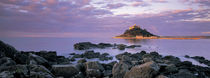 Castle on top of a hill, St Michael's Mount, Cornwall, England by Panoramic Images