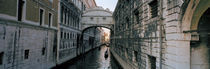 Bridge on a canal, Bridge Of Sighs, Grand Canal, Venice, Italy von Panoramic Images