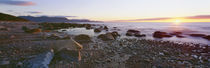 Sunset along rocky coast, Gros Morne National Park, Newfoundland, Canada von Panoramic Images