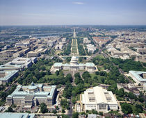 Aerial view of buildings in a city, Washington DC, USA von Panoramic Images