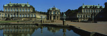 Reflection Of Buildings On Water, Zwinger Palace, Dresden, Germany by Panoramic Images
