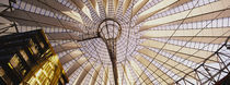 Low angle view of the roof of a building, Sony Center, Berlin, Germany von Panoramic Images