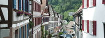 Houses in a town, Schiltach, Baden-Wurttemberg, Germany by Panoramic Images