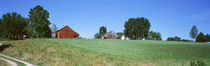 Barn in a field, Missouri, USA by Panoramic Images