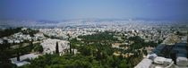 High angle view of a city, Acropolis, Athens, Greece von Panoramic Images
