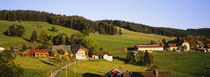 High Angle View Of A Village, Black Forest, Baden-Wurttemberg, Germany by Panoramic Images