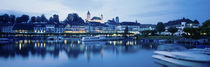 Switzerland, Rapperswil, Lake Zurich by Panoramic Images