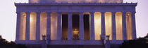 Facade of the Lincoln Memorial, Washington DC, USA by Panoramic Images