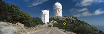 Road leading to observatory, Kitt Peak National Observatory, Arizona, USA by Panoramic Images