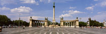 Hero Square, Budapest, Hungary by Panoramic Images