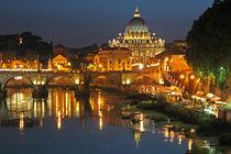 Petersdom - Rom - Engelsbruecke - Papstwahl by captainsilva