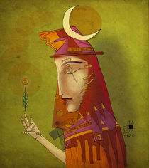 Sorceress by nechoart