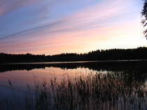 Sunset at a Lake by Katri Ketola